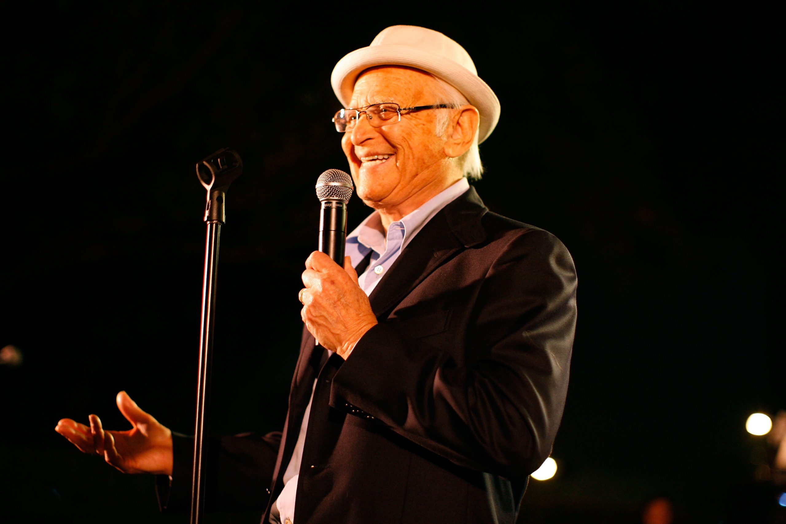 Television producer Norman Lear