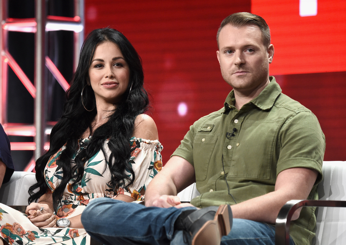 90 Day Fiancé stars Paola Mayfield and Russ Mayfield   Amanda Edwards/Getty Images for Discovery, Inc.