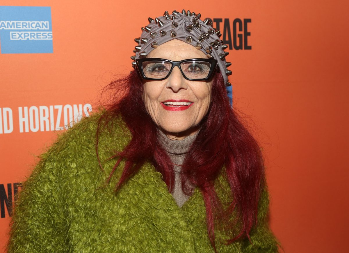 Patricia Field attends the premiere of Grand Horizons