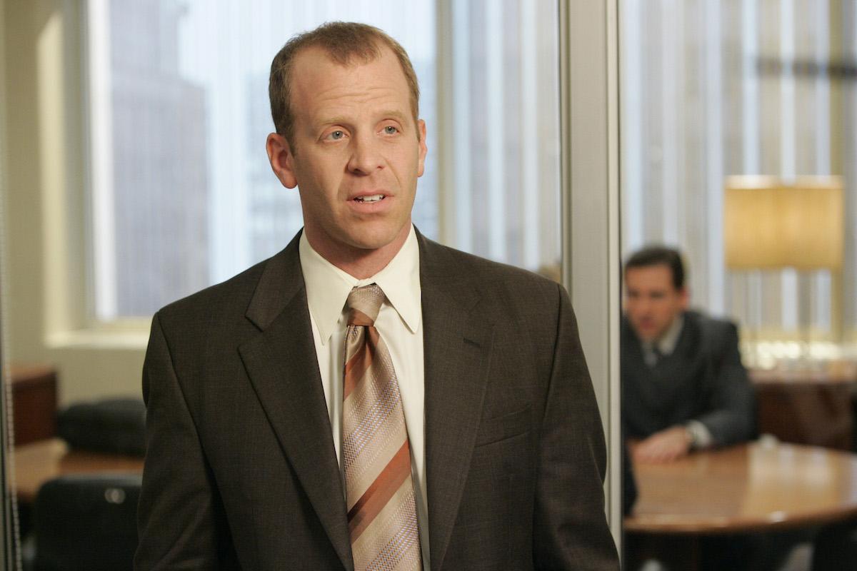 The Office cast member Paul Lieberstein as Toby Flenderson
