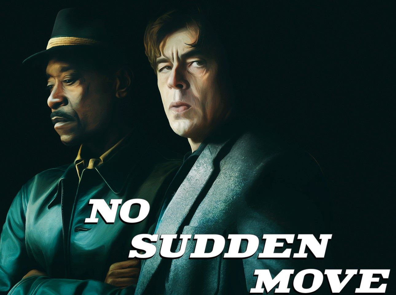 Poster for 'No Sudden Move'