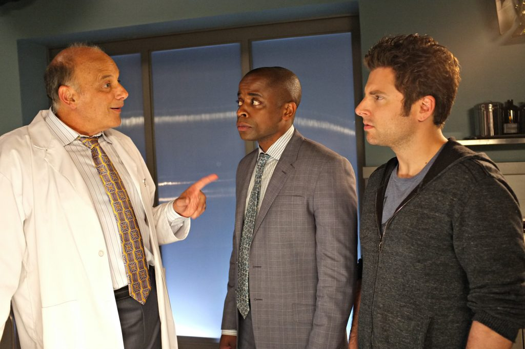 Kurt Fuller, Dule Hill, and James Roday on 'Psych'