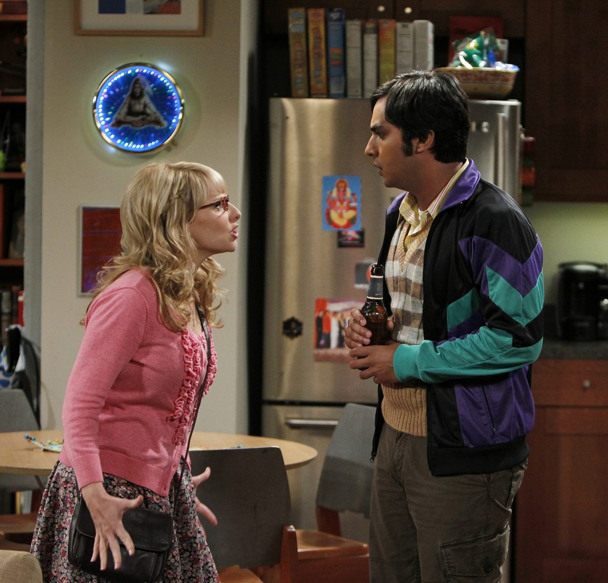 """Bernadette and Raj have a verbal altercation in """"The Skank Reflex Analysis"""", an episode of 'The Big Bang Theory'"""