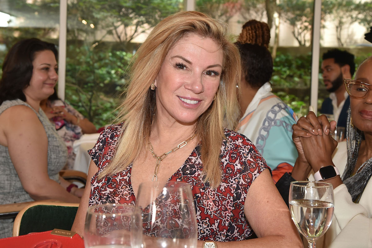 Ramona Singer from The Real Housewives of New York City at an event in NYC on July 14, 2021
