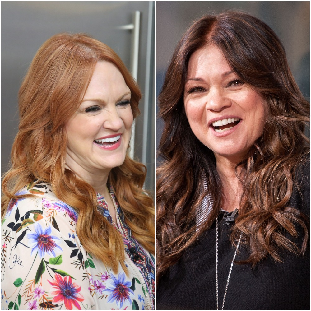 Left to right: Ree Drummond of Food Network's 'The Pioneer Woman' and actor and television personality Valerie Bertinelli of 'Valerie's Home Cooking'