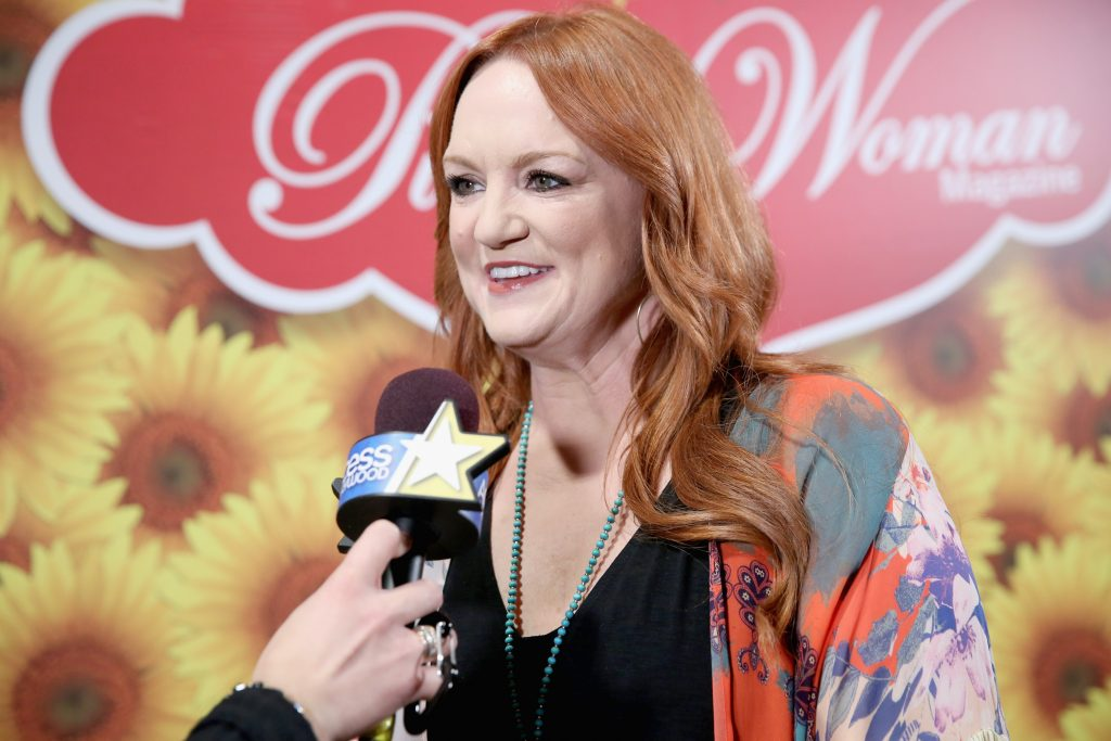 The Pioneer Woman Ree Drummond at a Pioneer Woman event