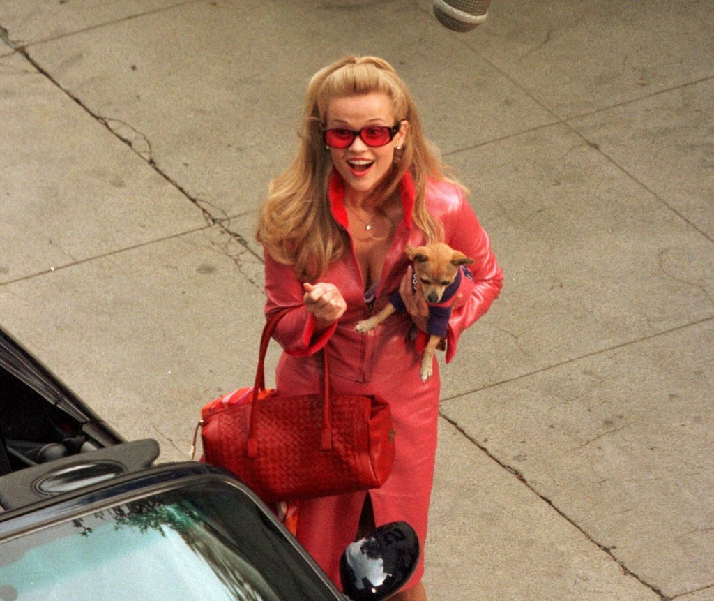 Reese Witherspoon in the 2001 comedy 'Legally Blonde'