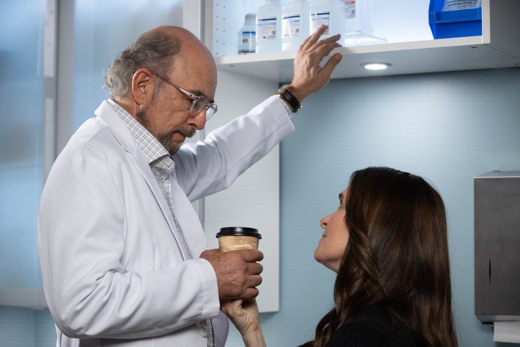 Richard Schiff and Sheila Kelley on 'The Good Doctor'