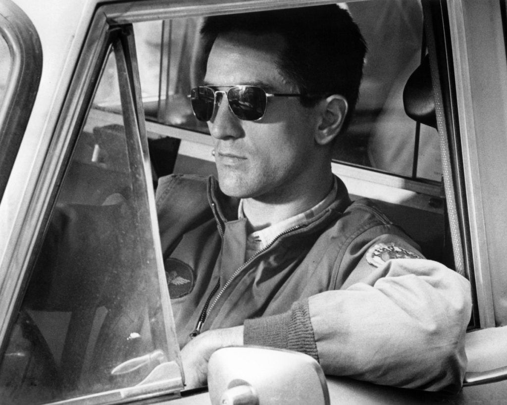 American actor Robert De Niro as as Travis Bickle in 'Taxi Driver, directed by Martin Scorsese, 1976.