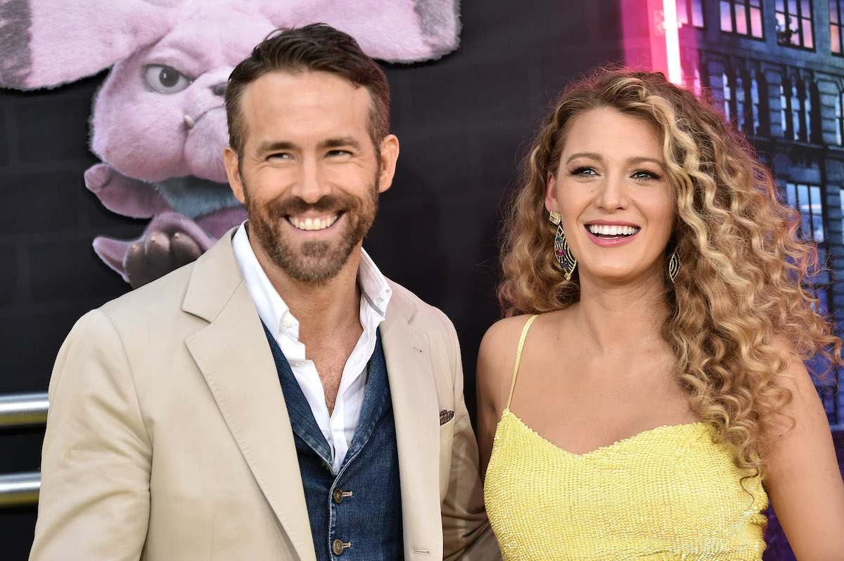 Ryan Reynolds and Blake Lively attend the premiere of Pokemon Detective Pikachu in 2019