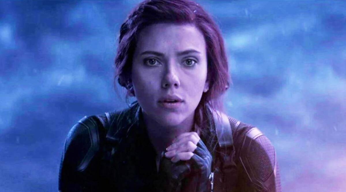 Scarlett Johansson as Black Widow in 'Avengers: Endgame'