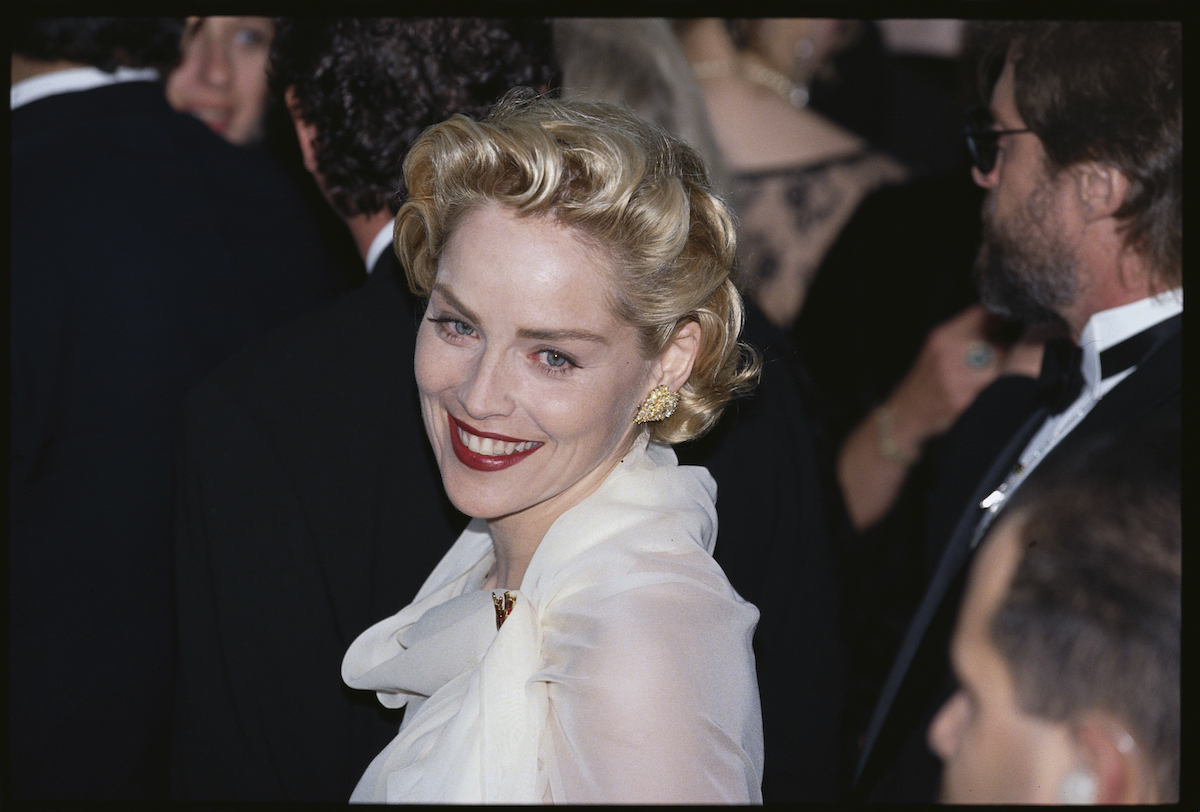 Sharon Stone attended the Academy Awards