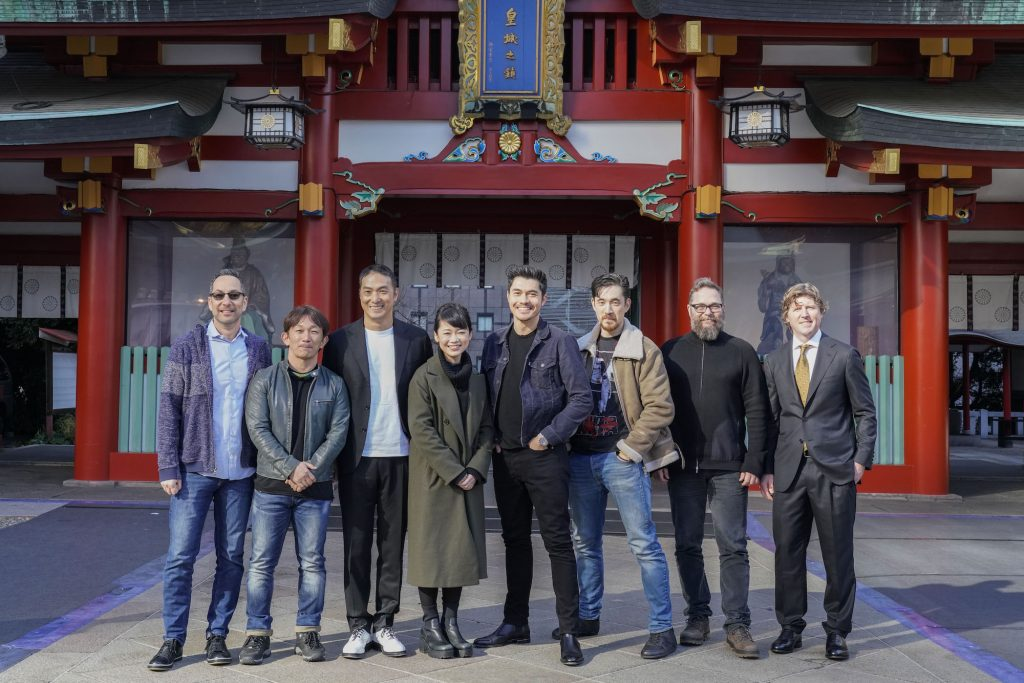 Cast and creative team of 'Snake Eyes'