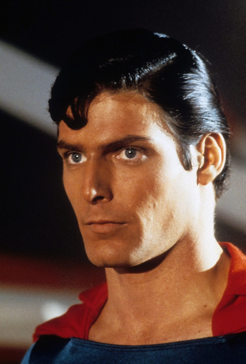 Superman Christopher Reeve in closeup