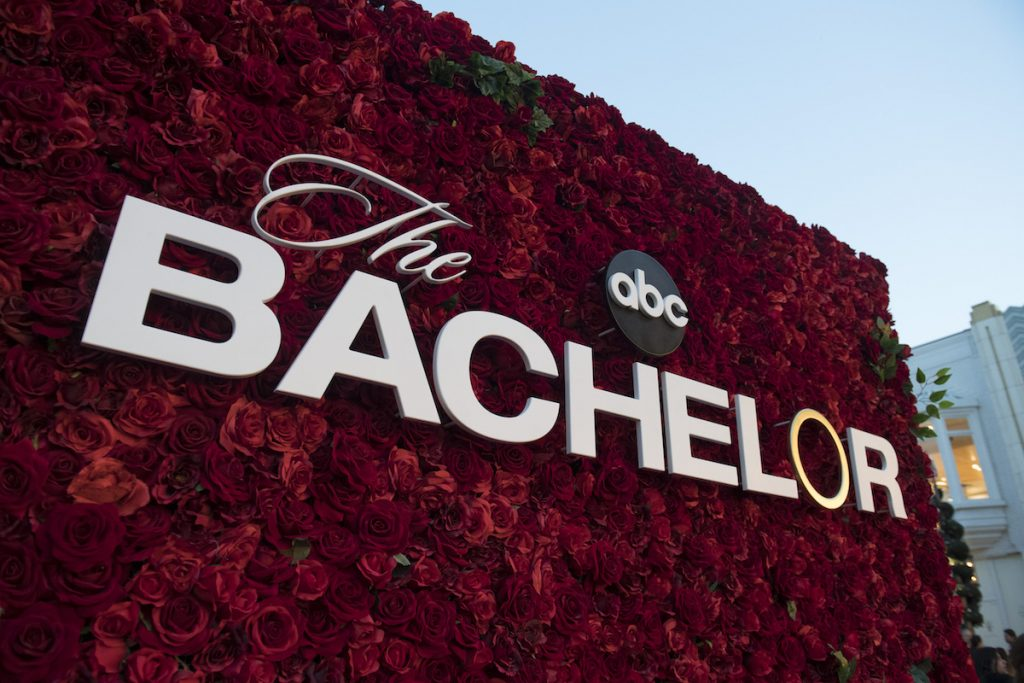 'The Bachelor' trivia will surprise many ardent fans of the reality dating series. Pictured here is a rose wall with signage from the franchise.