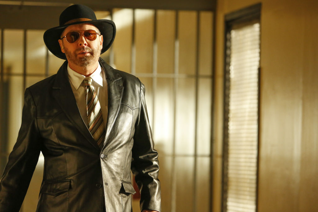 James Spader as Raymond 'Red' Reddington is dressed in disguise as he escapes prison.