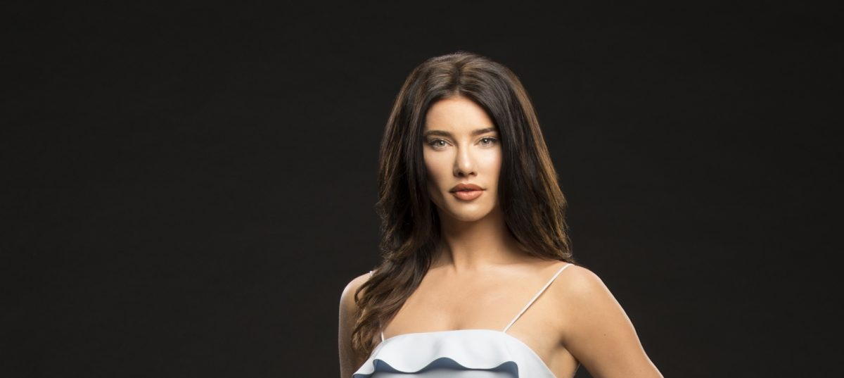 Jacqueline MacInnes Wood as Steffy Forrester on 'The Bold and The Beautiful'