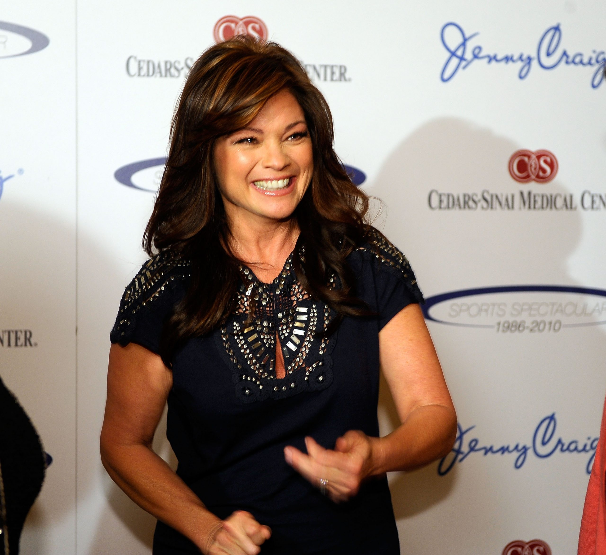 Actor and then-Jenny Craig spokesperson Valerie Bertinelli in 2010 at an event for the weight-loss company