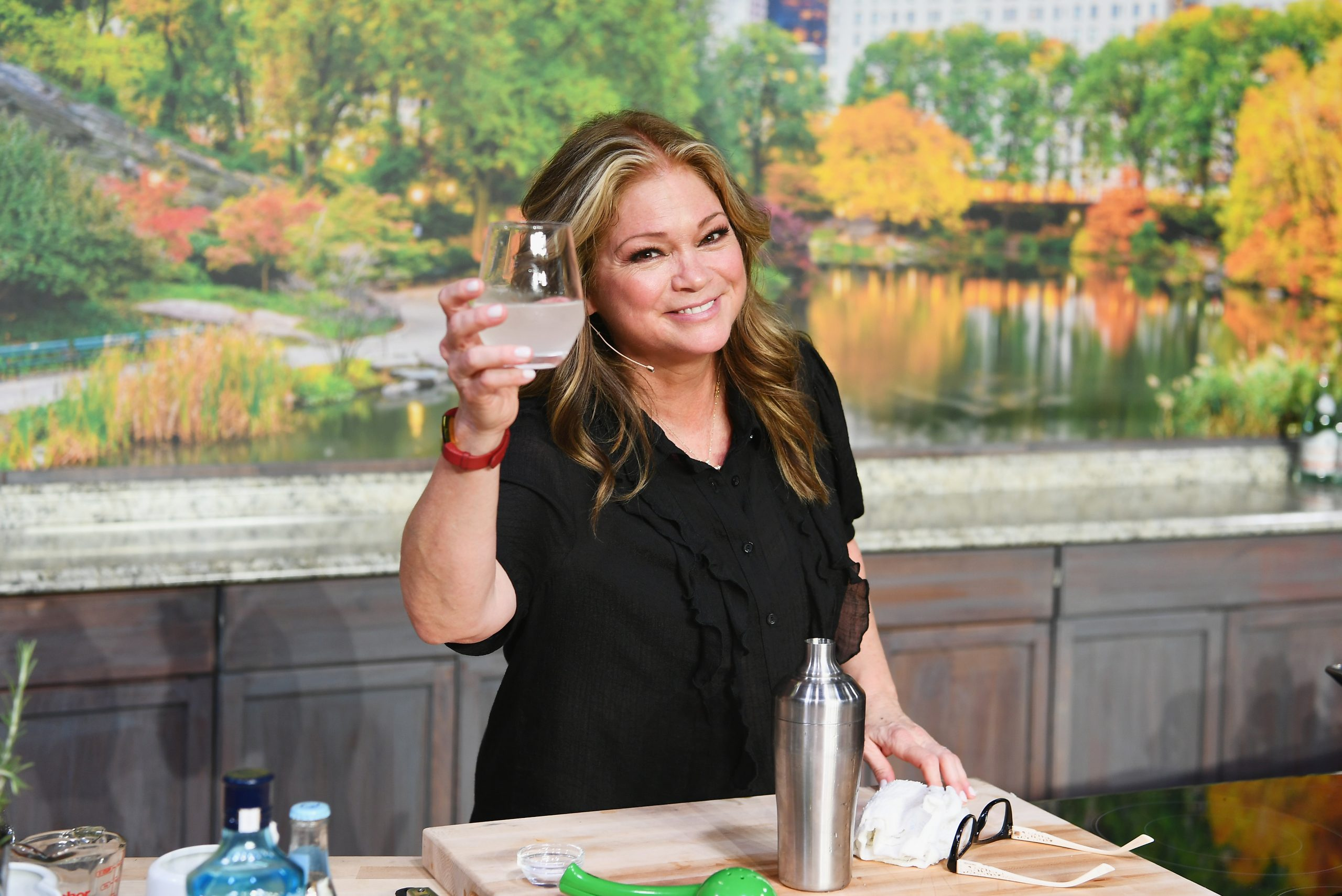 Food Network television personality Valerie Bertinelli