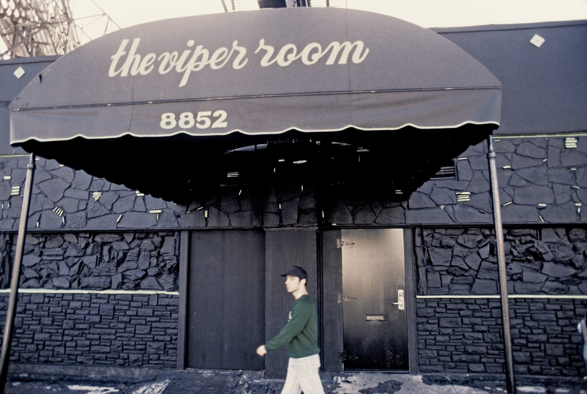 Viper Room awning over entrance