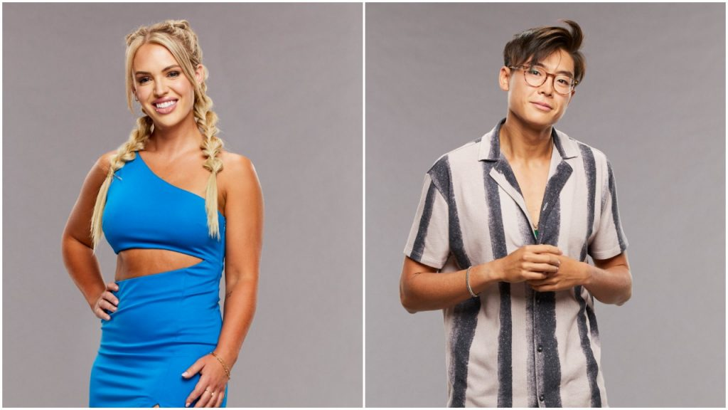 Big Brother 23 houseguests Whitney Williams and Derek Xiao