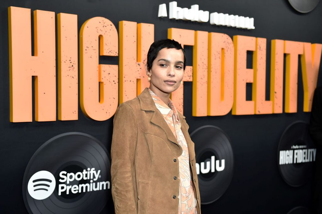Zoe Kravitz at the New York Premiere of the 'High Fidelity' TV show