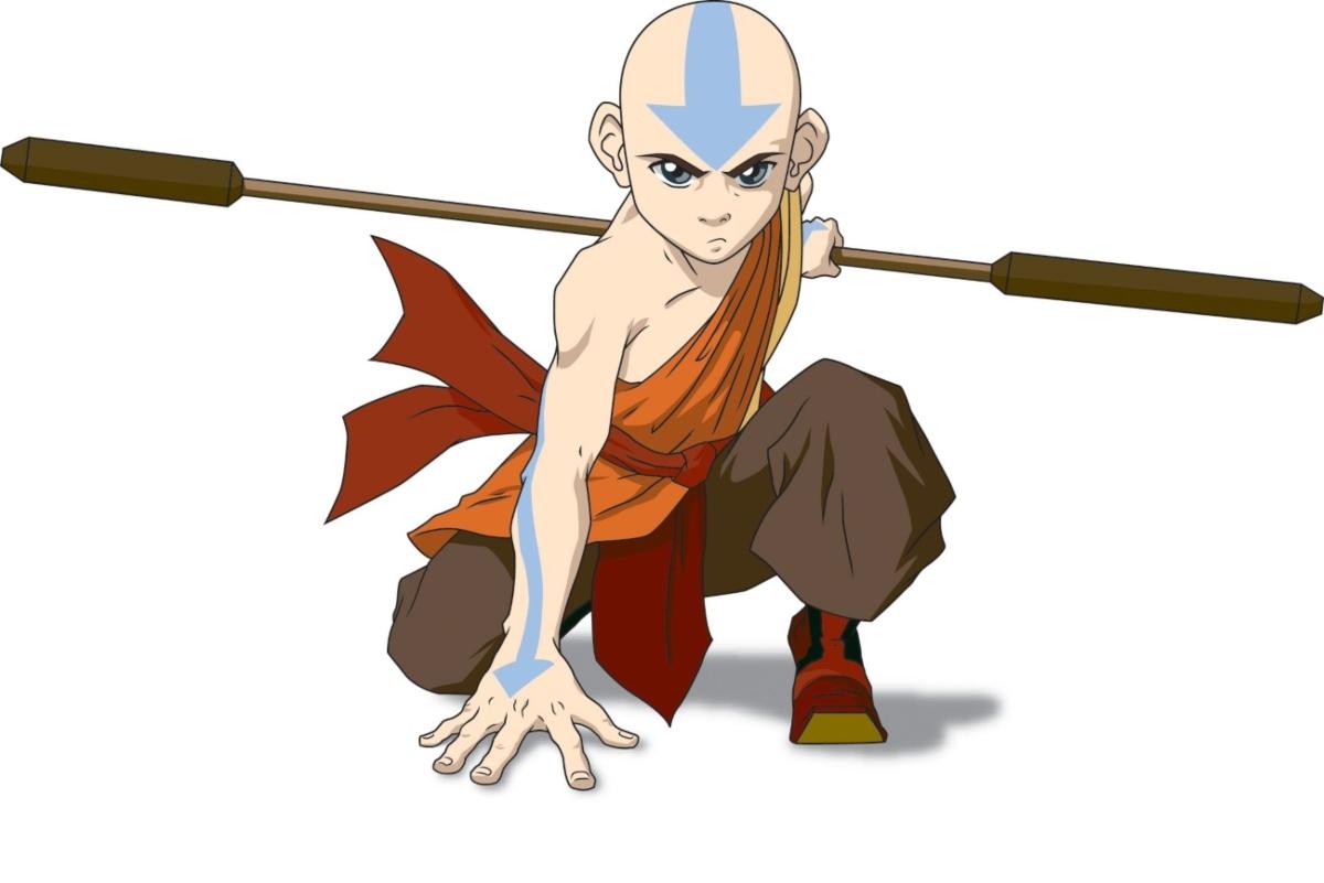 Aang in 'Avatar: The Last Airbender'