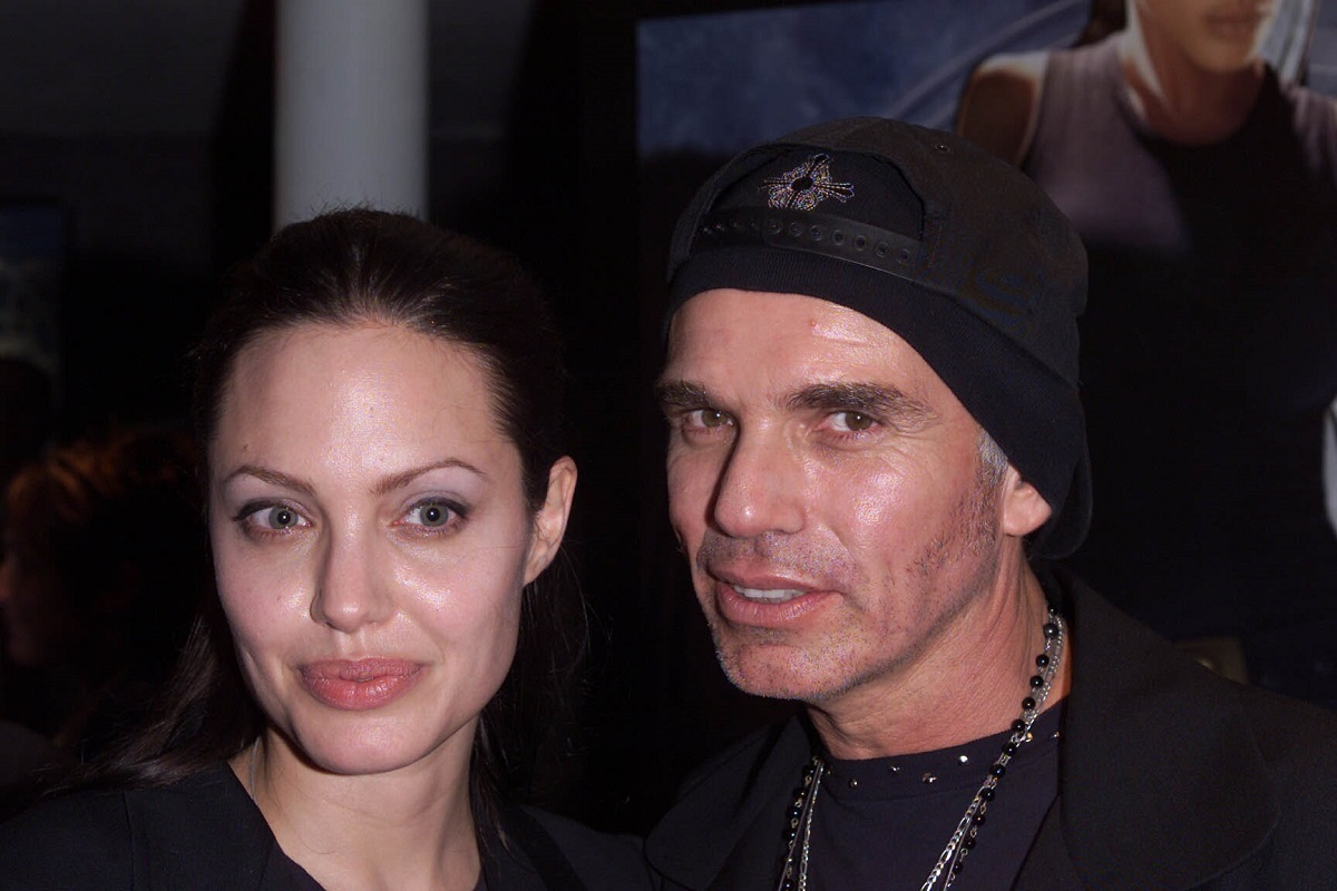 Angelina Jolie and Billy Bob Thornton on July 4, 2001, in London, England.