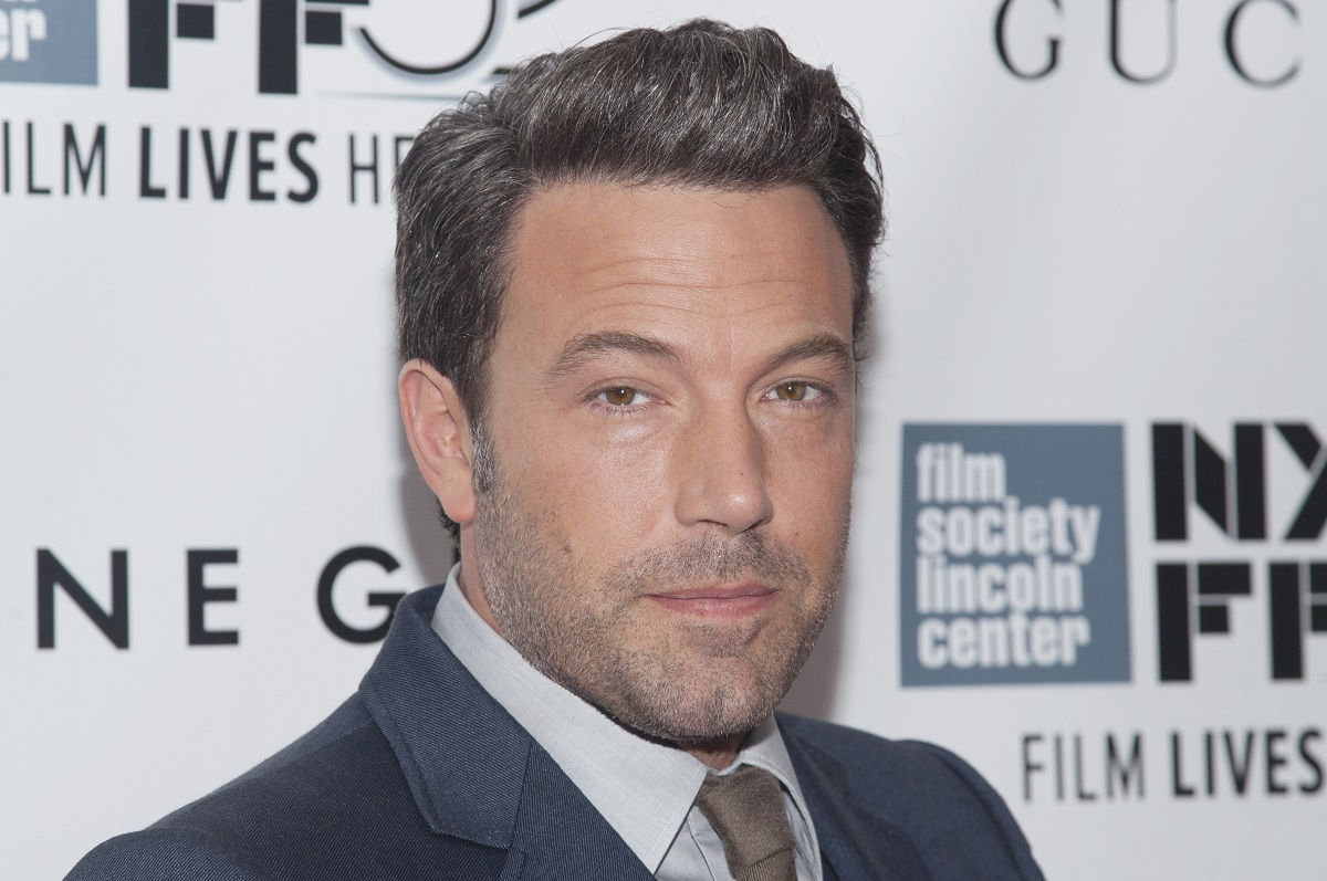 Ben Affleck attends the 'Gone Girl' world premiere during The 52nd New York Film Festival.