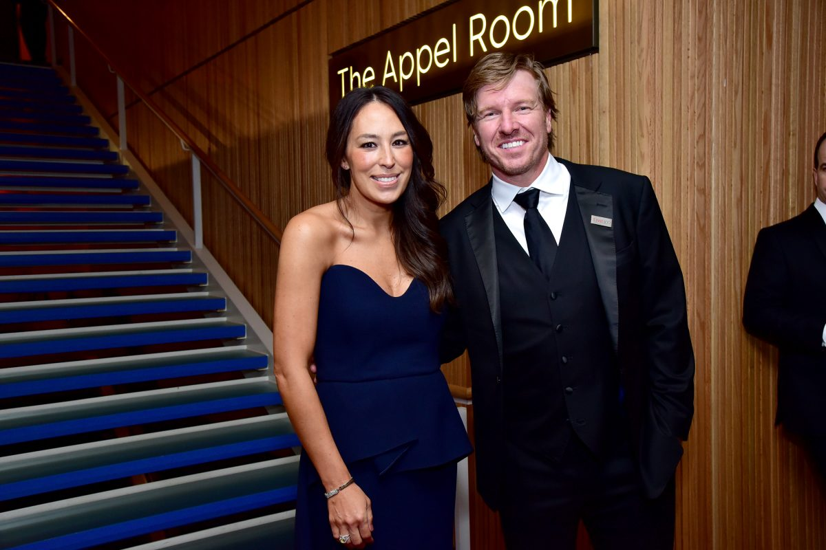 Joanna and Chip Gaines at the Time 100 Gala in 2019