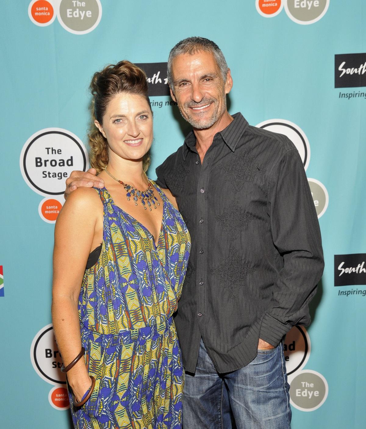 Colette Simon and Cliff Simon, who played Ba'al on Stargate SG-1