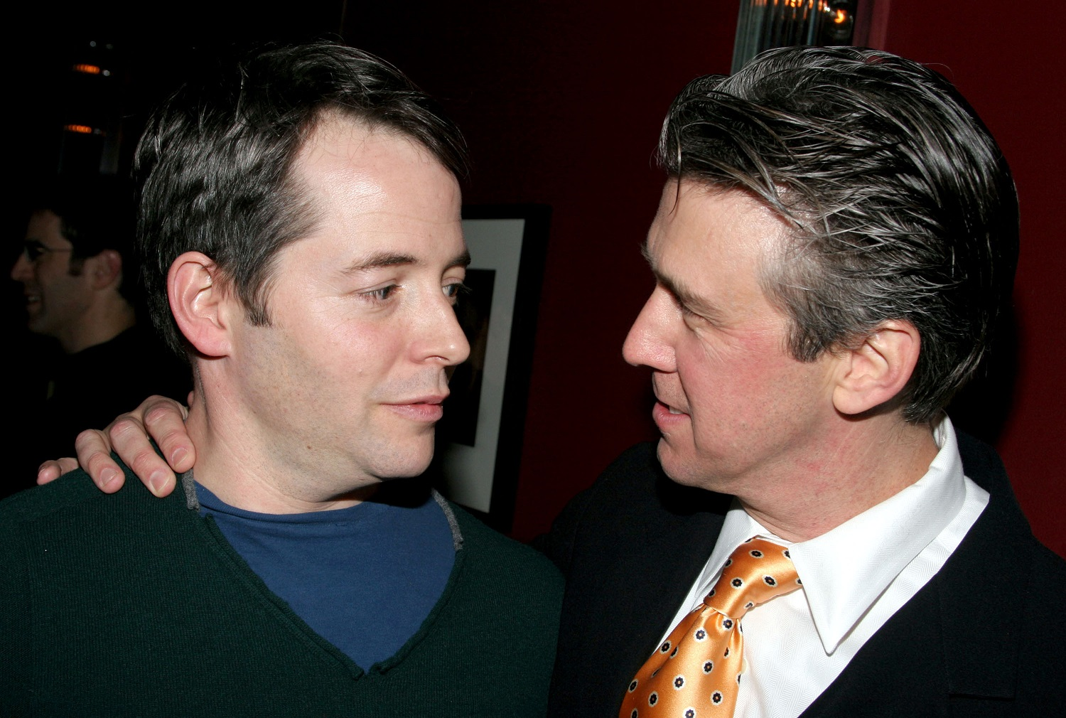 Matthew Broderick and Alan Ruck, who starred in Ferris Bueller's Day Off