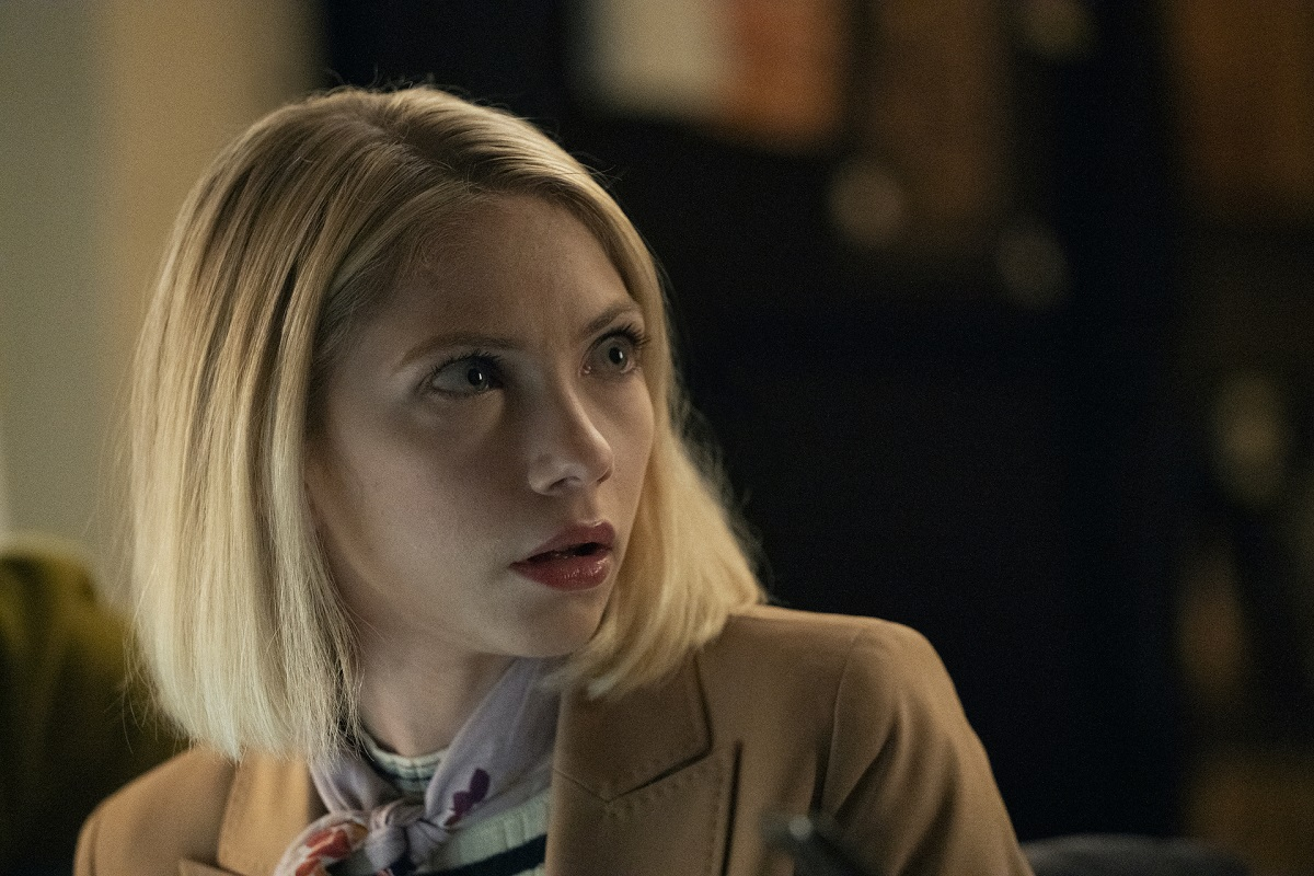 Tavi Gevinson as Kate Keller in 'Gossip Girl'