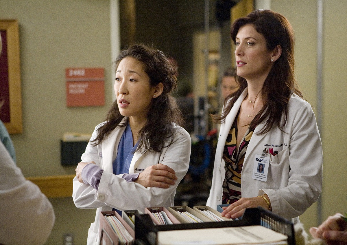(L-R): Sandra Oh and Kate Walsh in 'Grey's Anatomy'
