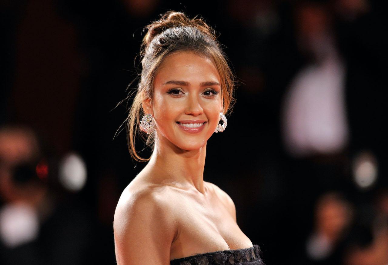 """Jessica Alba attends the """"Machete"""" premiere during the 67th Venice Film Festival"""