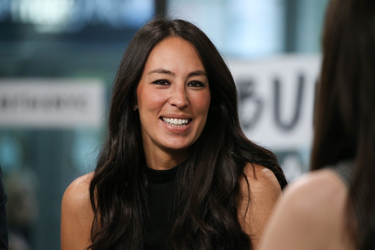 Joanna Gaines during an interview in 2017