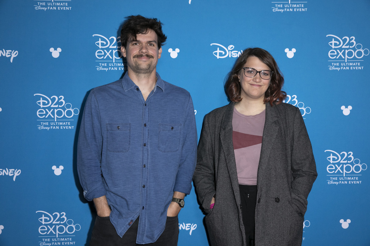 Michael Waldron and Kate Herron at D23 EXPO 2019