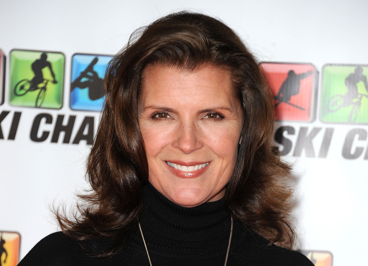 Kimberlin Brown smiles as she attends the premiere of 'Winter' at Village Theater on December 4, 2011 in Westwood, California