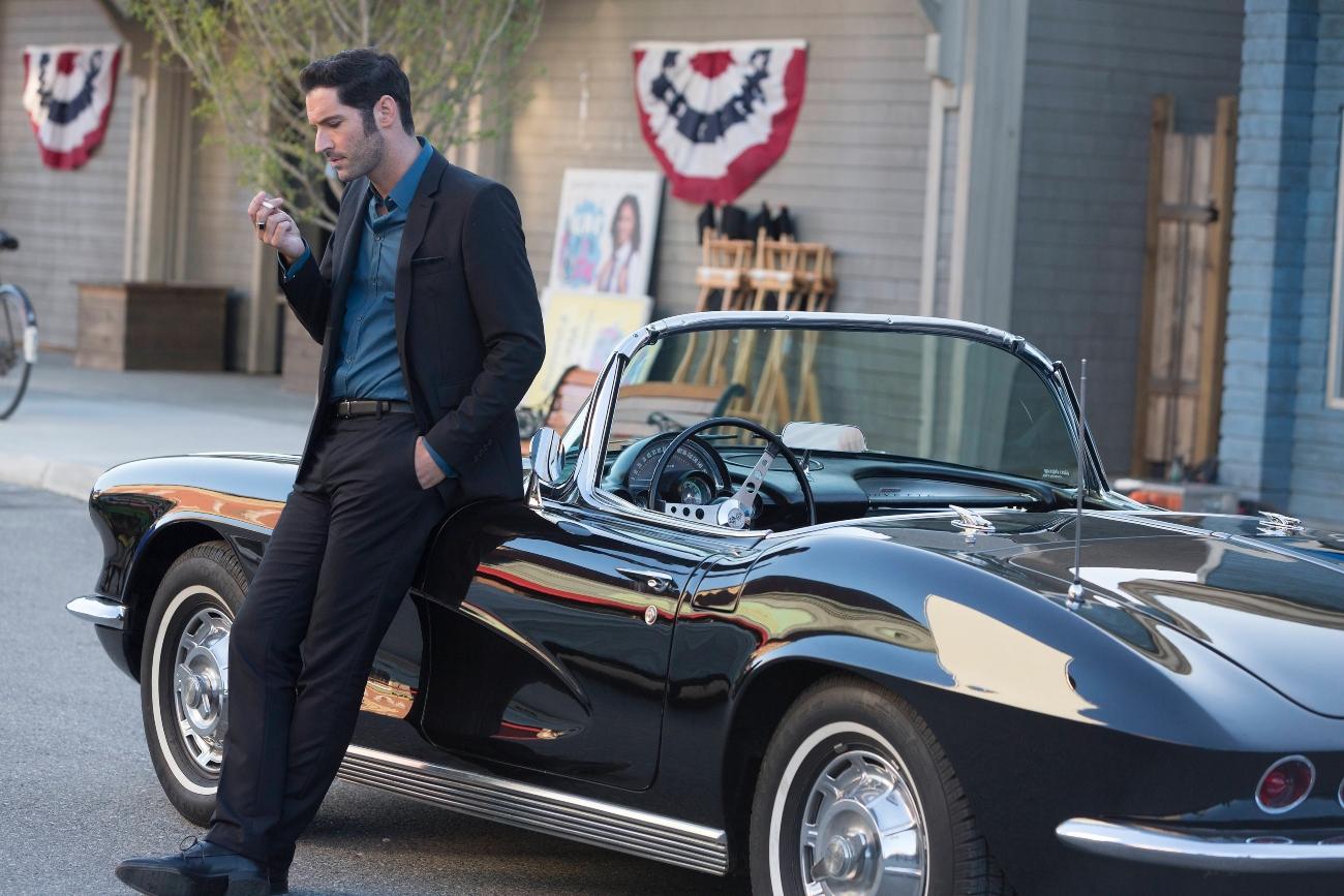Tom Ellis in 'Lucifer' Season 2 on Fox