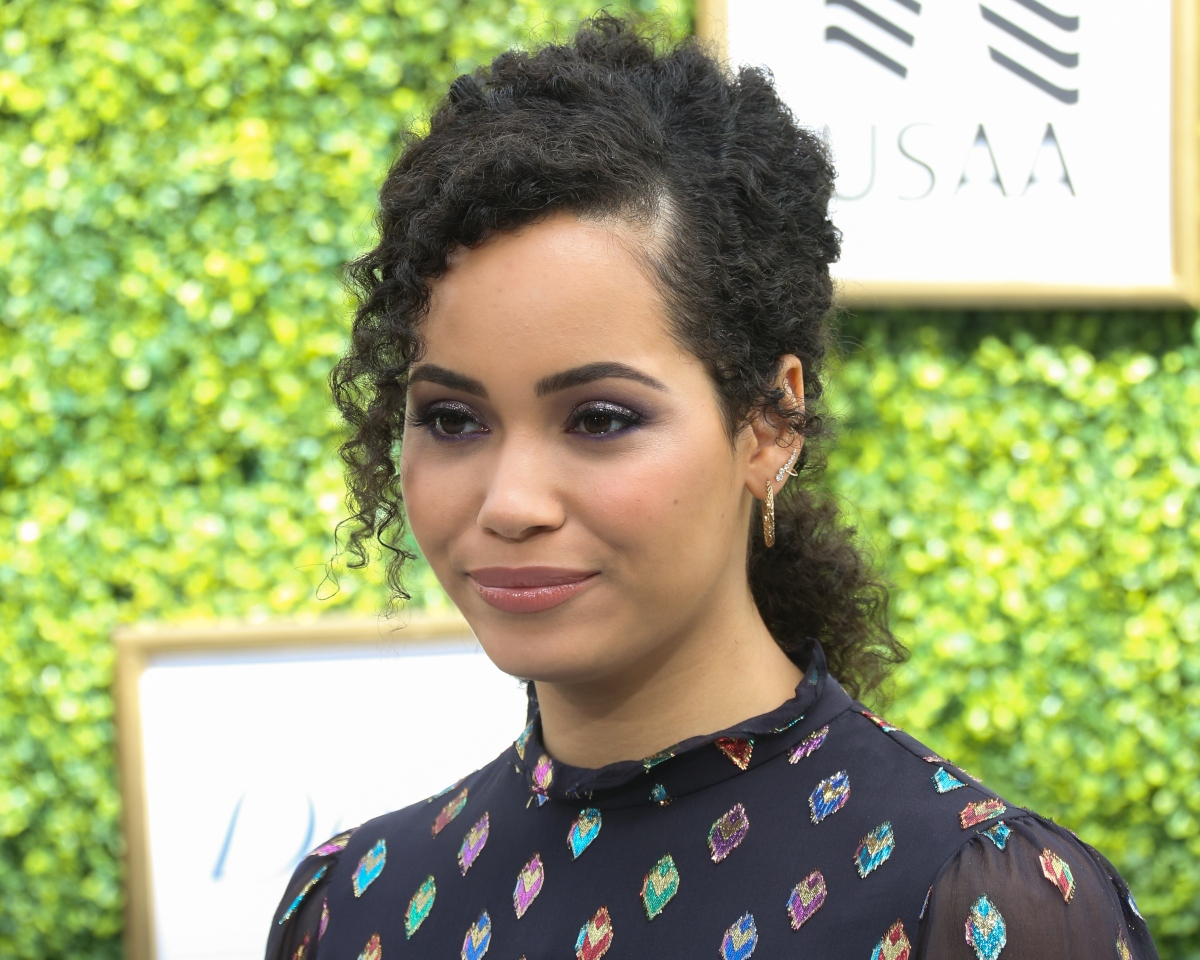 Madeleine Mantock attends the CW Network's fall launch event at Warner Bros. Studios on October 14, 2018 in Burbank, California