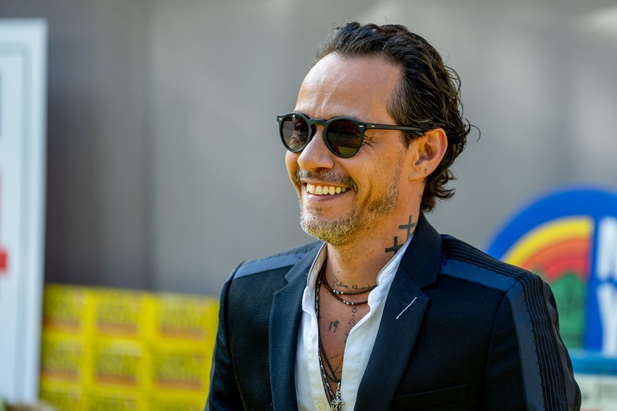 Marc Anthony at the 'In the Heights' premiere
