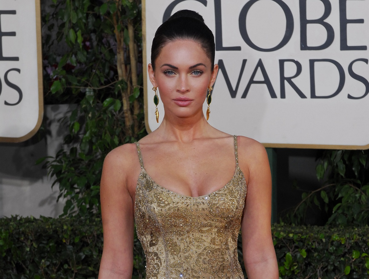 Megan Fox arrives at the 66th Annual Golden Globe Awards on January 11, 2009.