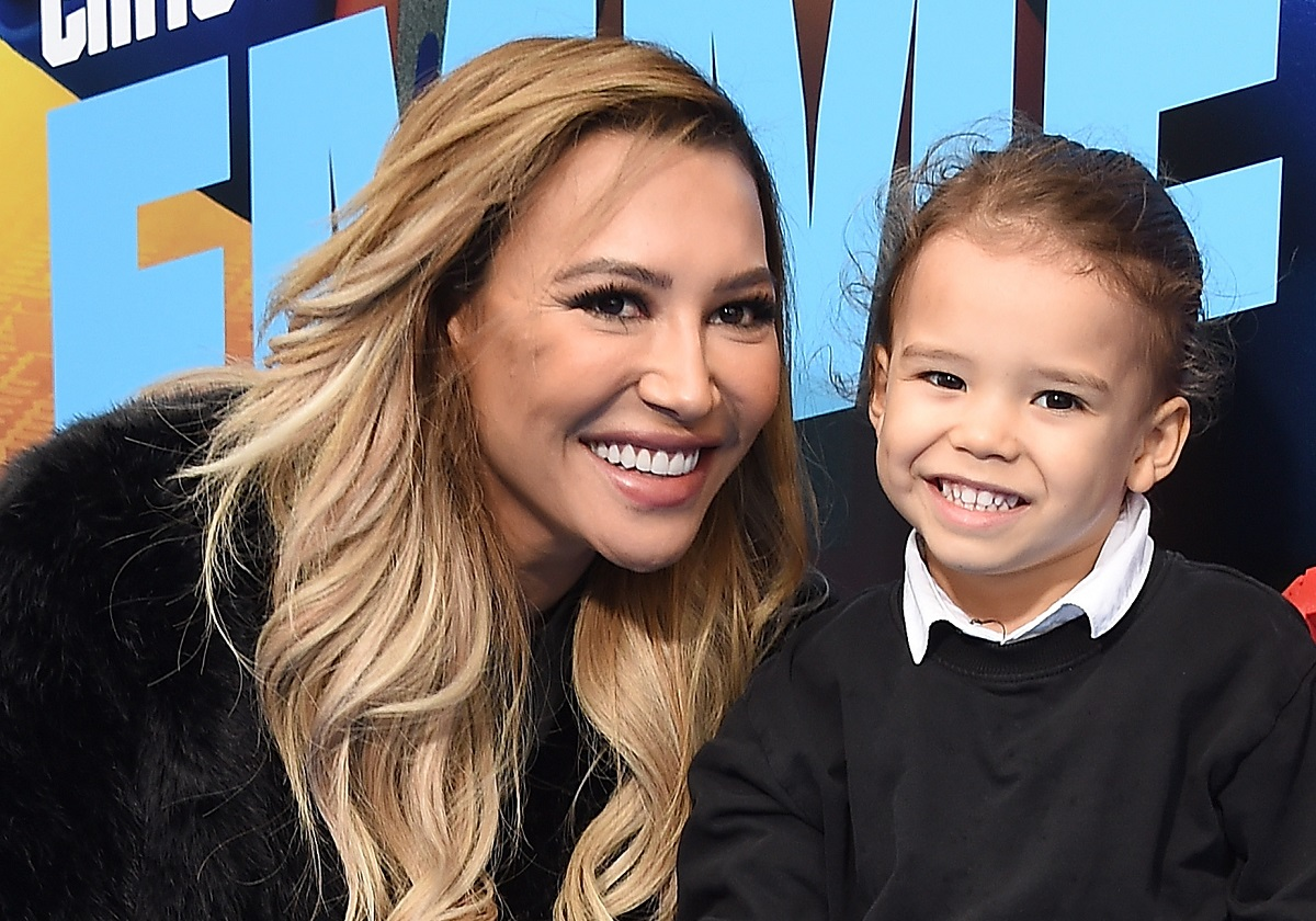 (L-R) Naya Rivera and her son, Josey, attend the premiere of Warner Bros. Pictures' 'The Lego Movie 2: The Second Part' on February 2, 2019.