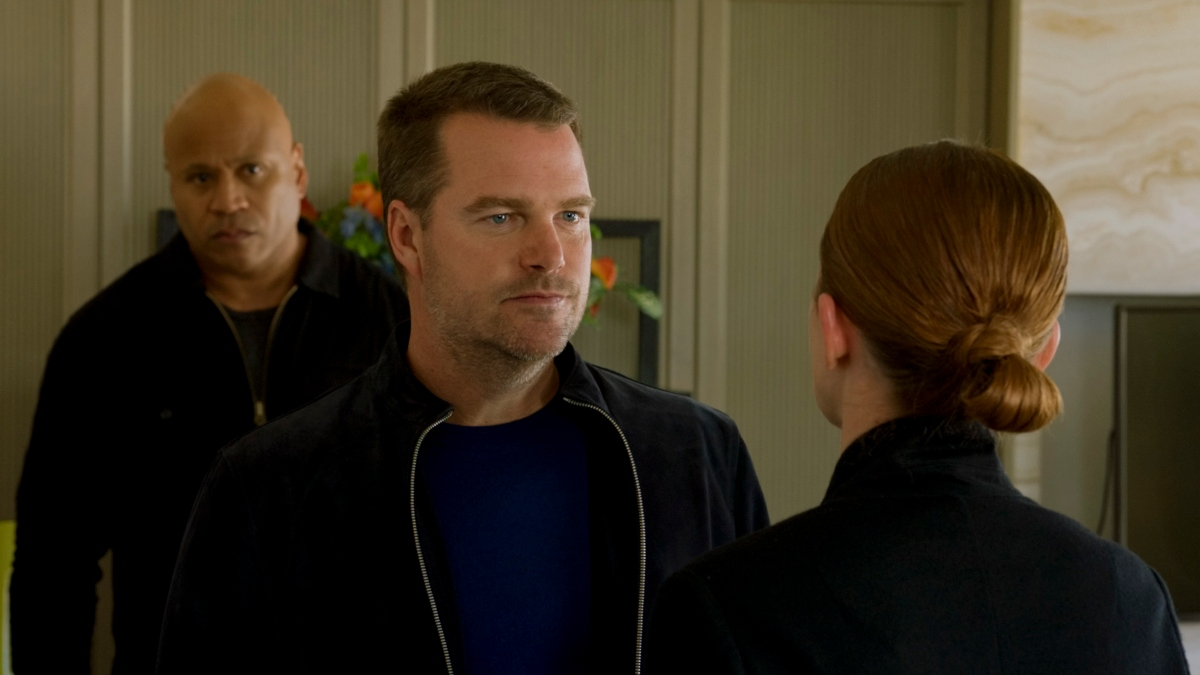 LL Cool J as Special Agent Sam Hanna, Chris O'Donnell as Special Agent G. Callen in 'NCIS: Los Angeles'