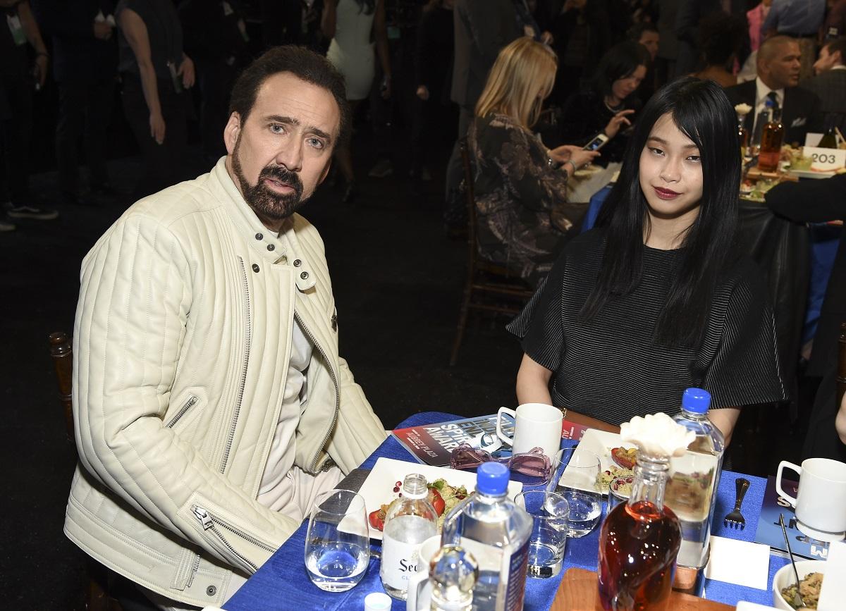 Nicolas Cage and Riko Shibata