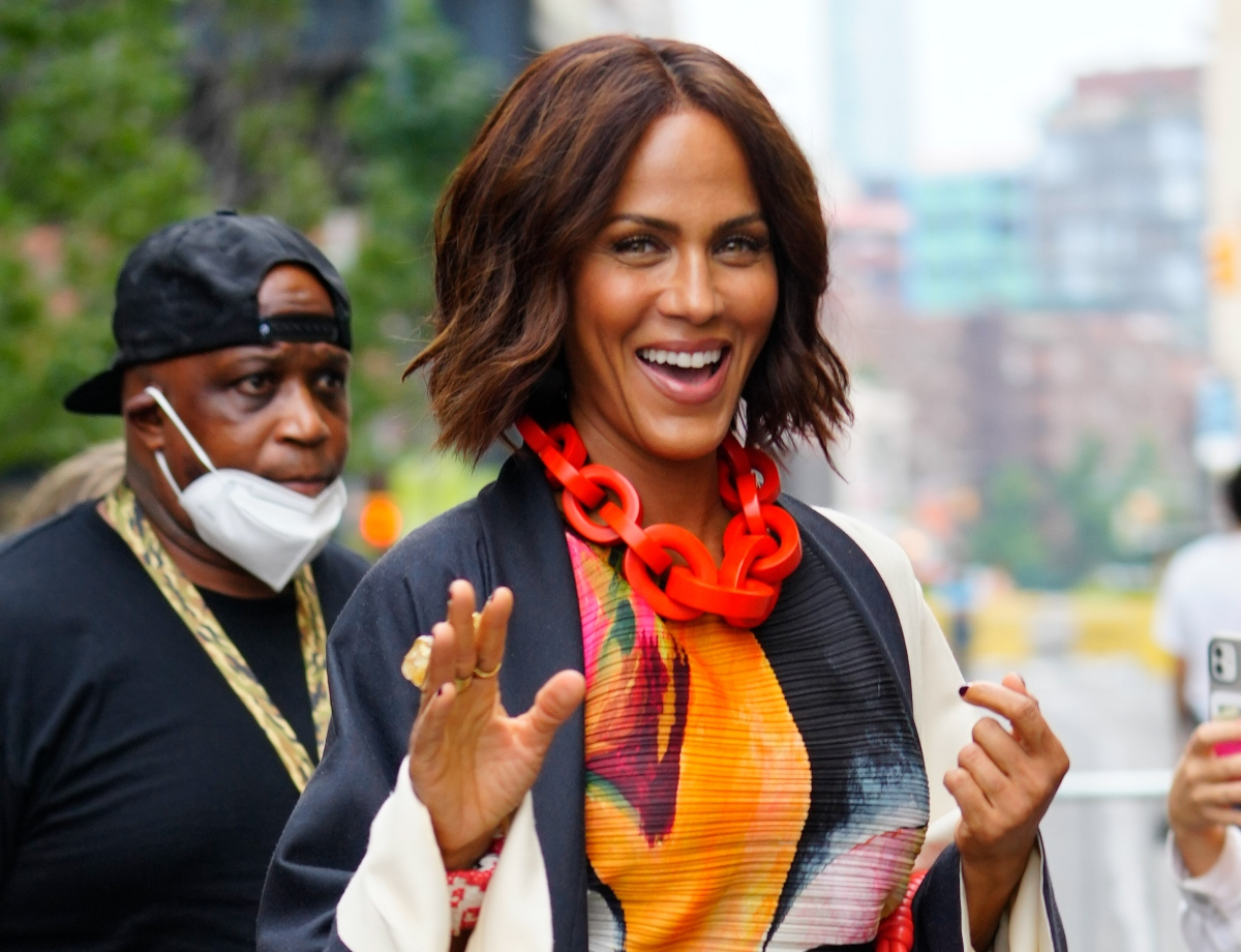 Nicole Ari Parker on the set of 'Sex and the City' spinoff 'And Just Like That...'