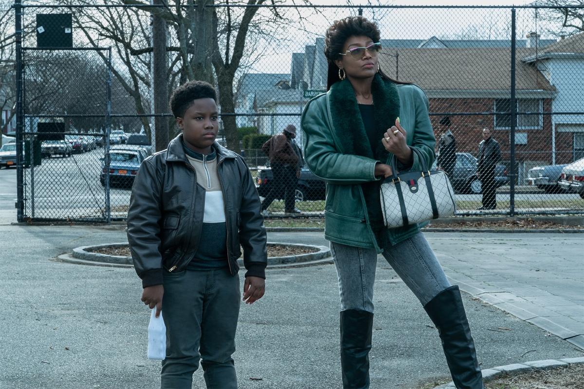 'Power Book III: Raising Kanan' with Joshua Maurice Johnson as Young Kanan and Patina Miller as Raquel Thomas