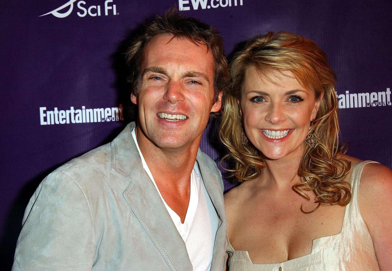 Stargate SG-1 stars Michael Shanks and Amanda Tapping
