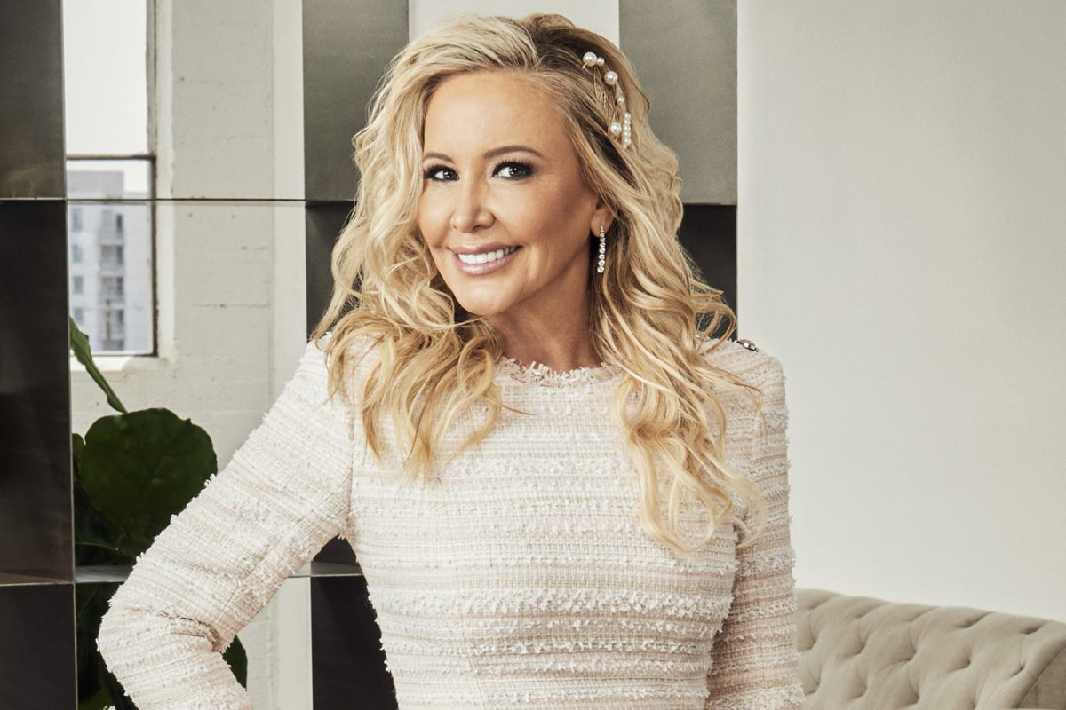 Shannon Beador smiling for her 'RHOC' Season 14 official photo