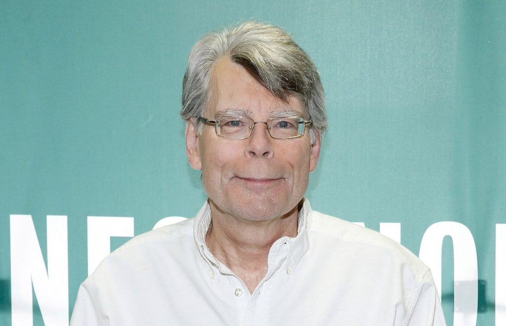 Stephen King signing copies of his book 'Revival' at Barnes & Noble
